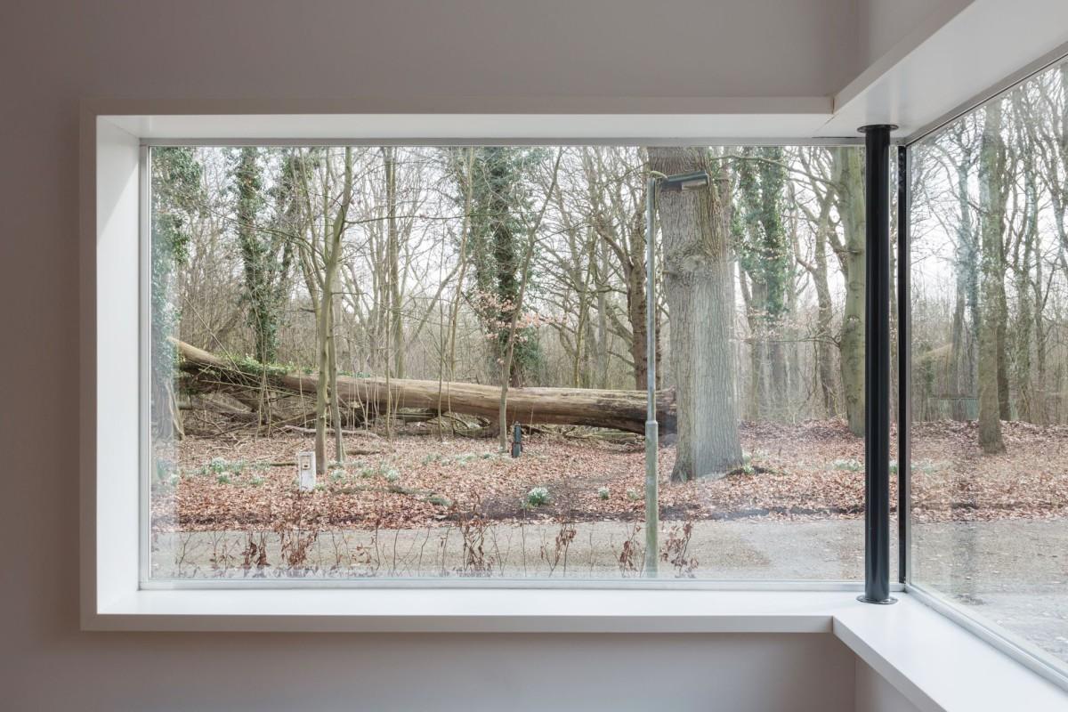 spiegelhuis, mirror house