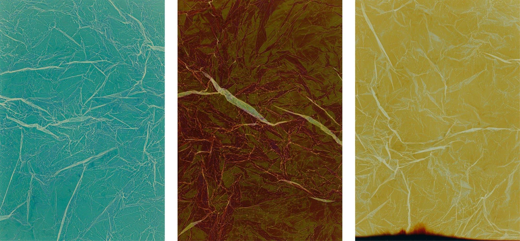 'faux topographies', 2019, c-prints, unique, 13x18cm